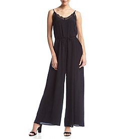 Skylar & Jade™ Lace Trim Jumpsuit