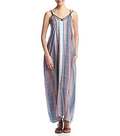 Eyeshadow® Striped Maxi Dress