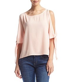 June & Hudson® Cold Shoulder Blouse