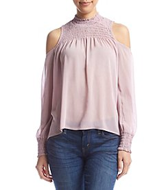 Living Doll® Cold-Shoulder Blouse