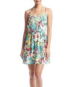 Be Bop Tropical Skater Dress