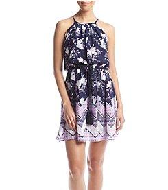 Sequin Hearts® Floral Dress