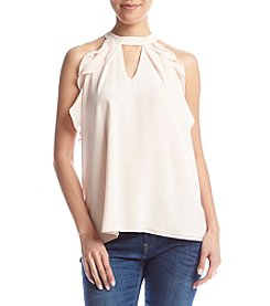 Chance or Fate® Ruffle Goddess Keyhole Top