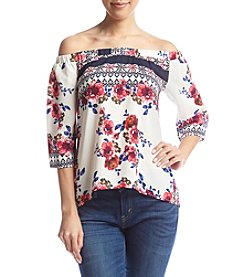 Living Doll® Floral Off-Shoulder Blouse