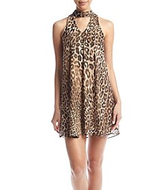 Swat Cheetah Swing Dress