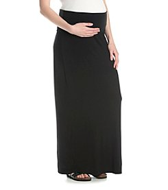 Three Seasons Maternity™ Solid Knit Maxi Skirt