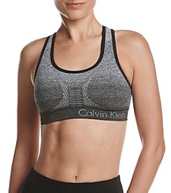 Calvin Klein Performance Gradient Stripe Sports Bra