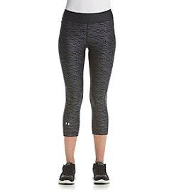 Under Armour® HeatGear® Printed Capri Leggings