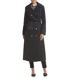 Anne Klein® Notched Collar Trench Coat