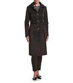 Anne Klein® Belted Trench Coat