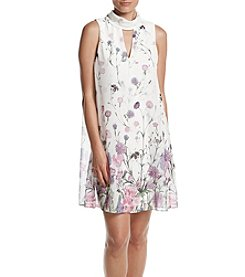 Ivanka Trump® Floral Garden Shift Dress