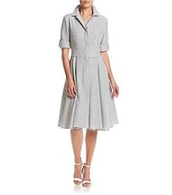 Ivanka Trump® Striped Shirt Dress