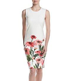 Calvin Klein Floral Hem Dress