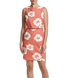 Ivanka Trump® Floral Pop-Over Dress
