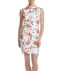 Ivanka Trump® Garden Scuba Shift Dress