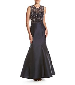 Xscape Beaded Top Gown