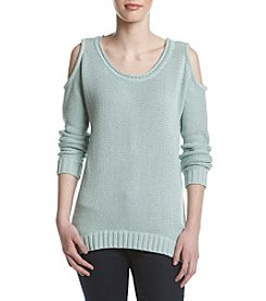 Fever™ Cold Shoulder Sweater