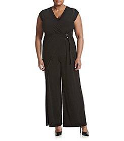 MICHAEL Michael Kors® Plus Size Wrap Front Jumpsuit