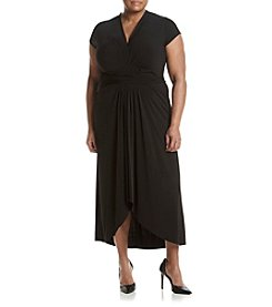 MICHAEL Michael Kors® Plus Size High Low Wrap Dress