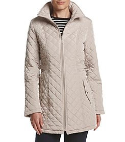 Gallery® Quilted Front Zip Jacket