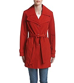 London Fog® Double Collar Trench Coat