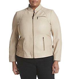 Gallery® Plus Size Scuba Jacket