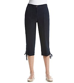 Studio Works® Poplin Denim Capri