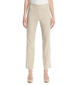 Briggs New York® Cotton Super Stretch Pull On Pants