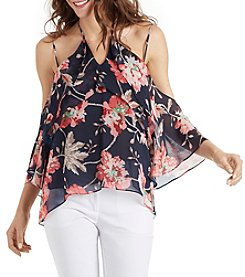 XOXO® Floral Off-Shoulder Blouse