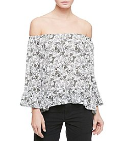 Sanctuary® Off-Shoulder Peplum Top