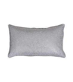 Juliana Rhinestone Damask Decorative Pillow