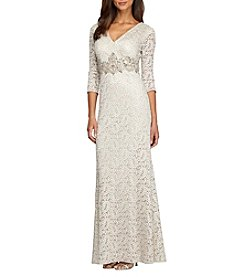 Alex Evenings® Embroidered Long Gown