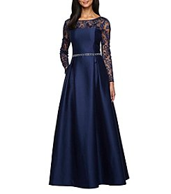 Alex Evenings® Lace Detail Ball Gown