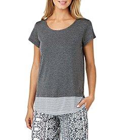 Cuddl Duds® Short Sleeve Pajama Top