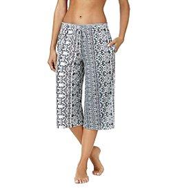 Cuddl Duds® Stripe Pajama Capri