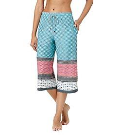 Cuddl Duds® Geo Pajama Capri