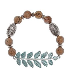 L&J Accessories Tree Vine Stretch Bracelet