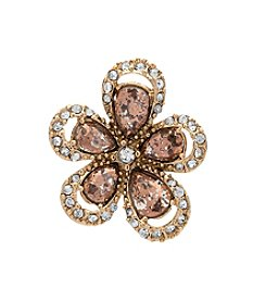 Anne Klein® Flower Stud Earrings