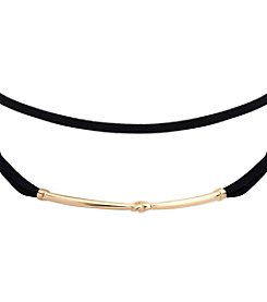 Anne Klein® Velvet Choker Necklace