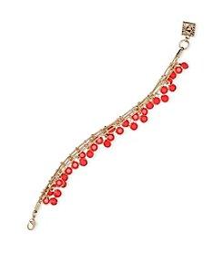 Anne Klein® Multi Row Shaky Bracelet