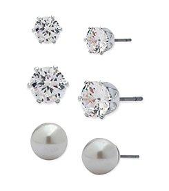 Anne Klein® Earrings On A Card