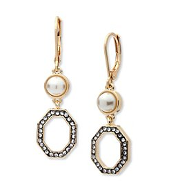Anne Klein® Pearl Drop Earrings
