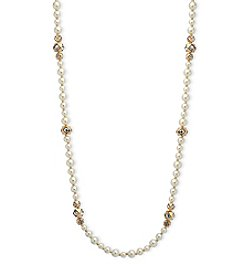 Anne Klein® Simulated Pearl Necklace Strand