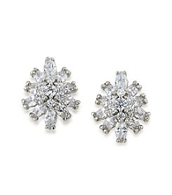 Carolee® Something Borrowed Clip On Earrings