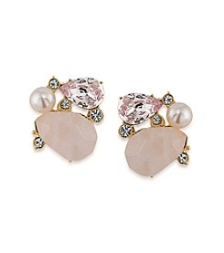 Carolee® Garden Party Clip On Earrings