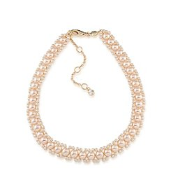 Carolee® Simulated Pearl Choker Necklace