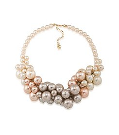 Carolee® Simulated Pearl Cluster Necklace