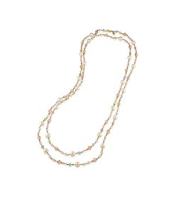 Carolee® Garden Party Rope Necklace