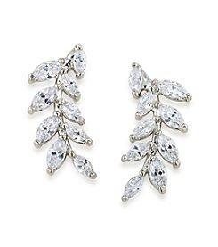 Carolee® Something Borrowed Ear Climber Pierced Earrings