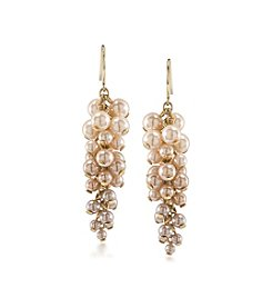 Carolee® Cluster Pierced Earrings